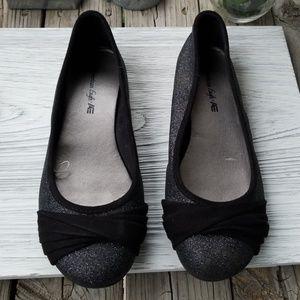 American Apparel Shoes - American Eagle Glitter Flats